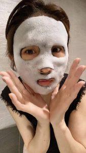 玫琳凱泡泡面膜,除了清潔保濕,還會按摩!