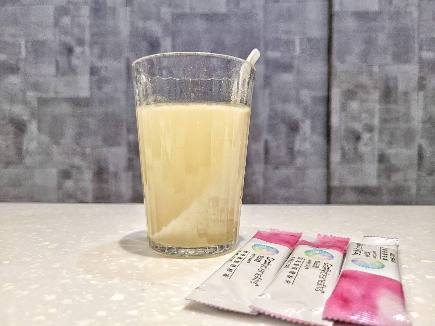 葡聚醣+大量開水=健康保護膜